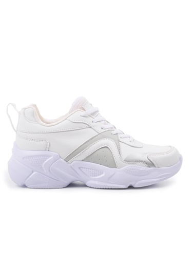 Slazenger Investa Beyaz Unisex Spor Ayakkabı Beyaz
